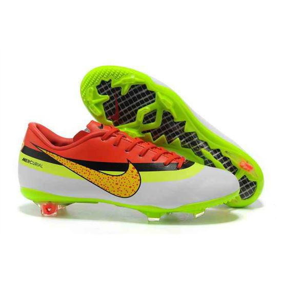 new style 052b4 708c4 Soccer Cleats On Sale,Soccer Shoes,Nike Mercurial Vapor Superfly  Fourth-style -CR-exclusive personal - White Red Green