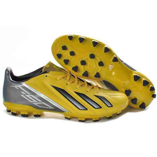 adidas f50 adizero zwart yellow