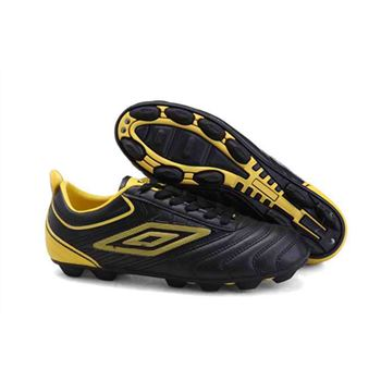 2704ba985f1 2012 London Olympic Games Umbro Cup AG Football Boots - Black Yellow