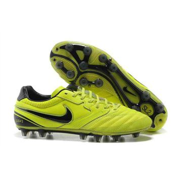 2013 Nike SUPERLIGERA HG Football Boots - Fluorescent yellow