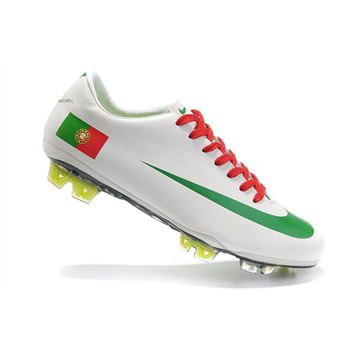 Portugal Nike Mercurial Vapor Superfly III FG - White Green Red