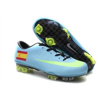 Spain Nike Mercurial Vapor Superfly III FG - Light Blue