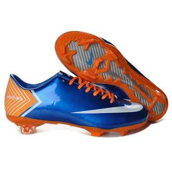 Nike Mercurial Vapor X FG Football Boots - Blue Yellow