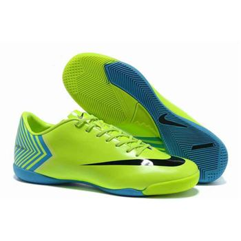 Nike Mercurial Vapor X IC Football Boots - Green Blue