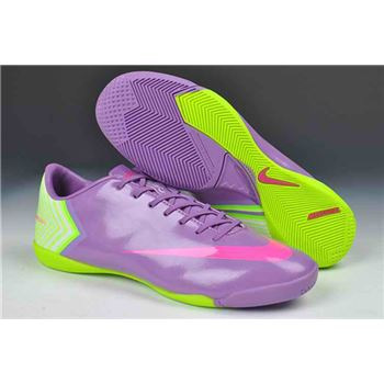 Nike Mercurial Vapor X IC Football Boots - Purple Green