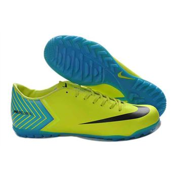 Nike Mercurial Vapor X TF Football Boots - Fluorescen Green