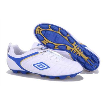 Umbro Cup 1088# HG Football Boots - White Blue