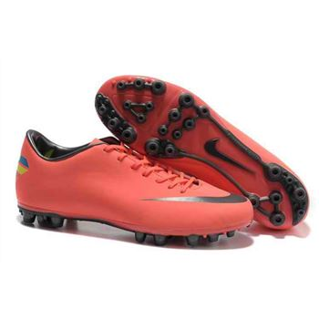 Nike - Jnr Mercurial Victory III AG Football Boots - Pink Black