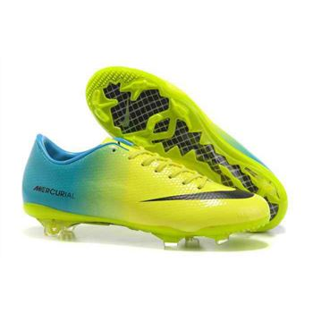 Nike Mercurial Vapor IX FG Football Boots - Green Black