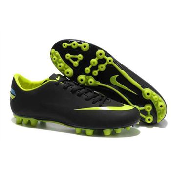 Nike Mercurial Vapor VIII AG Football Boots - Black Green