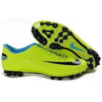 Nike Mercurial Vapor VIII AG Football Boots - Green Black