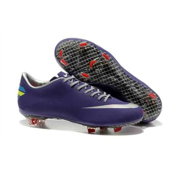 Nike Mercurial Vapor VIII FG Football Boots - Purple Silver