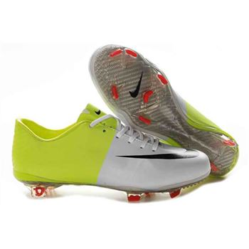 Nike Mercurial Vapor VIII FG Euro 2012 Firm Ground Football Boots - White/Green/Black/