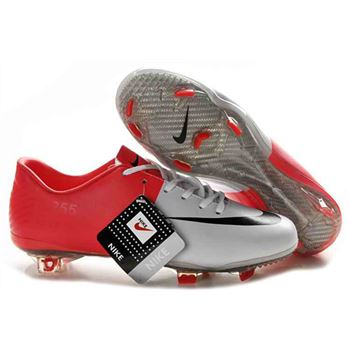 Nike Mercurial Vapor VIII FG Euro 2012 Firm Ground Football Boots - White/Red/Black/
