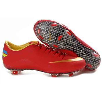 Nike Mercurial Vapor VIII FG Football Boots - Red Gold