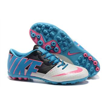 Nike BOMBA FINALE II Football Boots - White Blue Pink