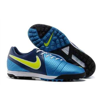 Nike CTR360 Maestri III TF Indoor Soccer Shoes - Blue Black