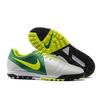 Nike CTR360 Maestri III TF Indoor Soccer Shoes - White Green
