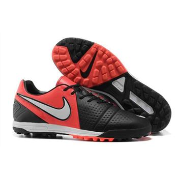 Nike CTR360 Maestri III TF Indoor Soccer Shoes - Black Red