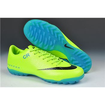 Limited Edition Nike Mercurial Vapor IX CR7 SE-TF- Green Black Blue