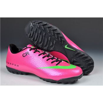 Limited Edition Nike Mercurial Vapor IX CR7 SE-TF- Purple Green Black
