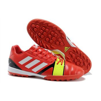 Adidas Nitrocharge 1.0 TRX TF Soccer Shoes - Red Black White