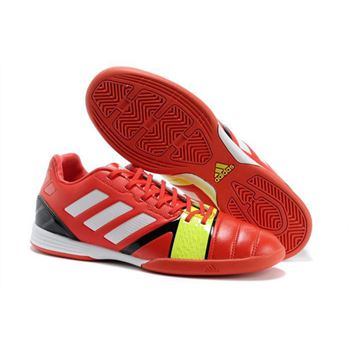 Adidas Nitrocharge 1.0 TRX IC Soccer Shoes - Red White