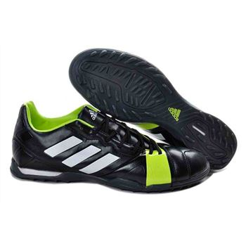 Adidas Nitrocharge 1.0 TRX Transparent Bottom TF Soccer Shoes - Black Green