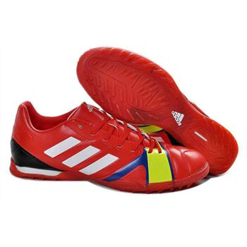 Adidas Nitrocharge 1.0 TRX Transparent Bottom TF Soccer Shoes - Red White