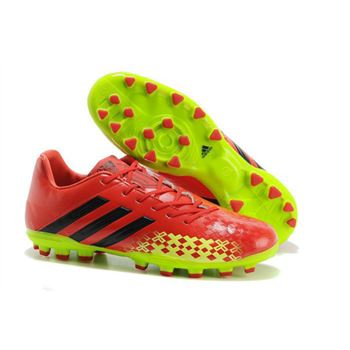 Adidas Predator Absolion LZ TRX AG - Red Black Fluorescent Yellow