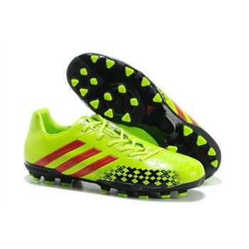Adidas Predator Absolion LZ TRX AG - Fluorescent Yellow Black Red