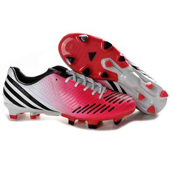 Adidas Adipower Predator LZ TRX FG Football Boots - Red White Black