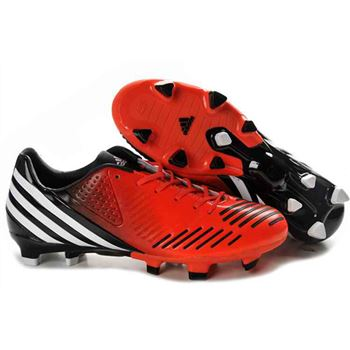 Adidas Predator LZ TRX FG Football Boots - Red Black