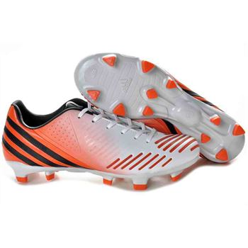 Adidas Predator LZ TRX FG Football Boots - White Orange Black