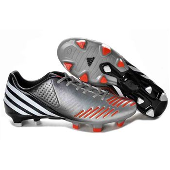 Adidas Predator LZ TRX FG Football Boots - Silver Orange Black