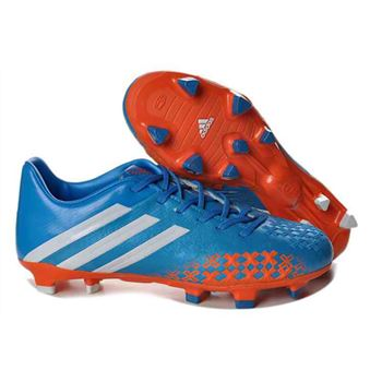 Adidas Predator LZ TRX FG - Football Boots - Blue Orange