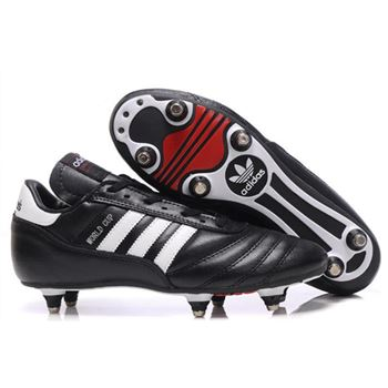 Adidas Copa Mundial SG Soccer Cleats - Black White