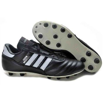 Adidas Copa Mundial FG Soccer Cleats - Black White