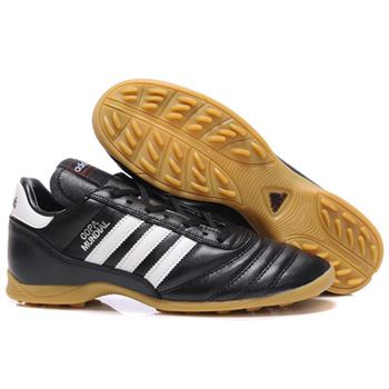 Adidas Copa Mundial TF Soccer Cleats - Black White